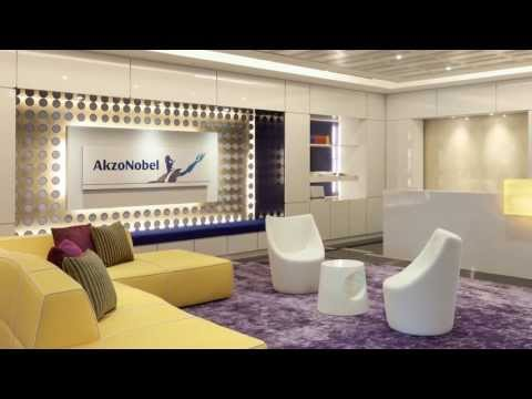 AkzoNobel's regional head office in Singapore embodies the company's world of colour