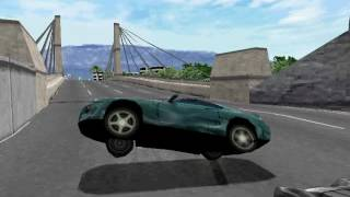 Vanishing Point (PS1) - Stuff that happened during completion (480p)