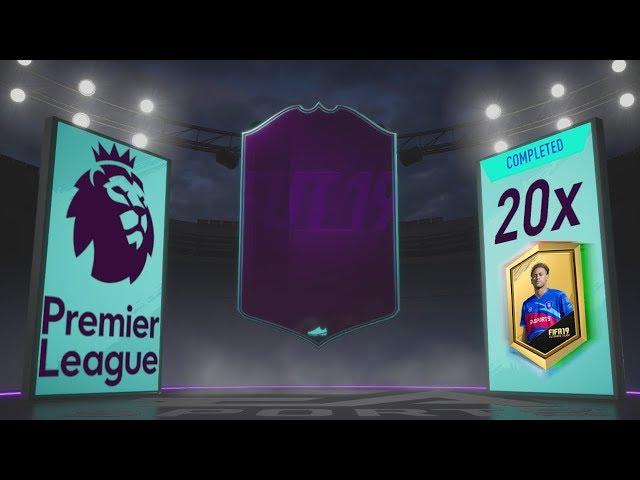 POSTAVIL JSEM CELOU PREMIER LEAGUE! [FIFA 19 PACK OPENING]