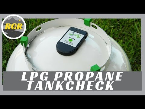 LPG Propane Tank Check System by Mopeka Products | Product Review | Wireless Propane Monitor System