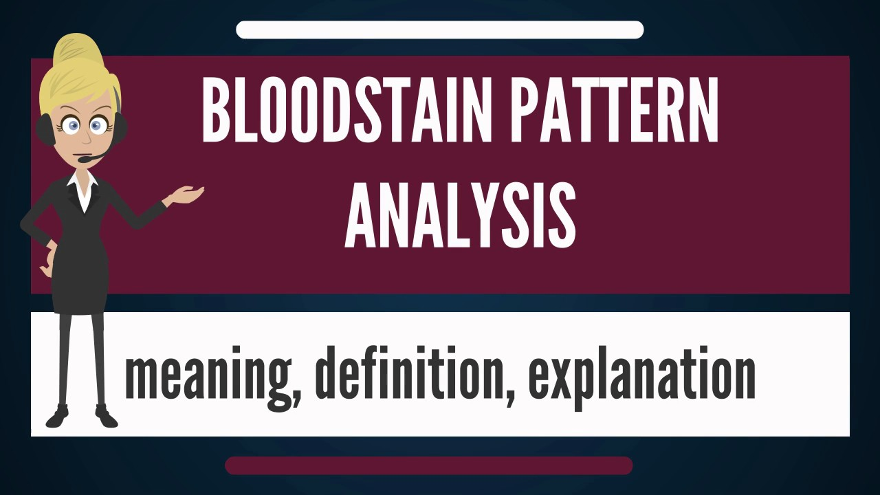 Blood Stain Patterns Best Decoration