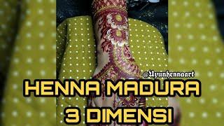 Download Lagu HENNA 3DIMENSI PENGANTIN MADURA, ORANG MADURA WAJIB NONTON!!! 😂 mp3