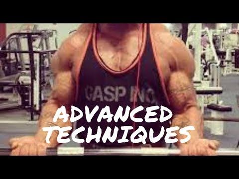HOW to use supersets and drop sets to BUILD muscle!
