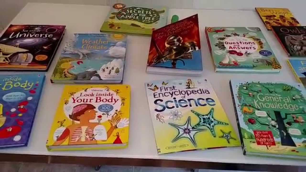 Usborne Non Fiction Books For Children To Learn Facts