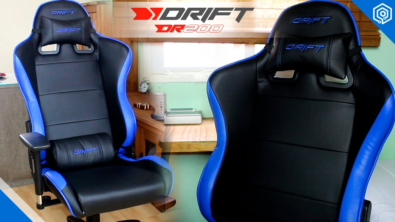 Silla gaming drift dr200 mi nueva silla de trabajo youtube for Bancos ergonomicos
