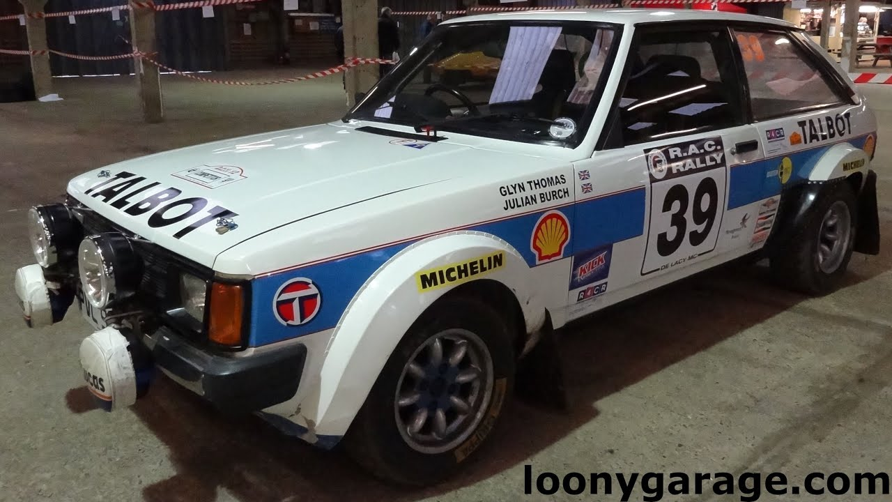 Talbot Sunbeam Rally Car For Sale