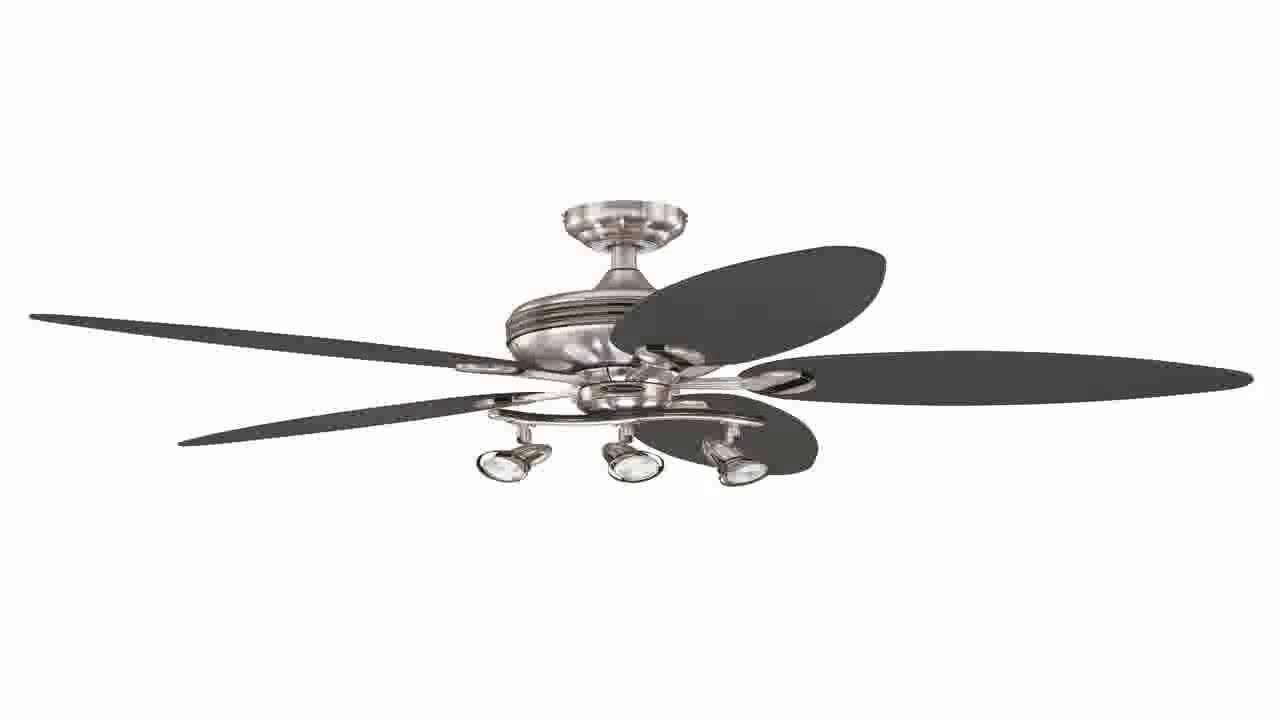 Westinghouse 7234265 Xavier Ii 52 Inch Ceiling Fan Brushed Nickel W Gunmeta You