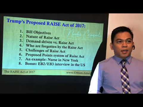 Trump's RAISE ACT 2017!