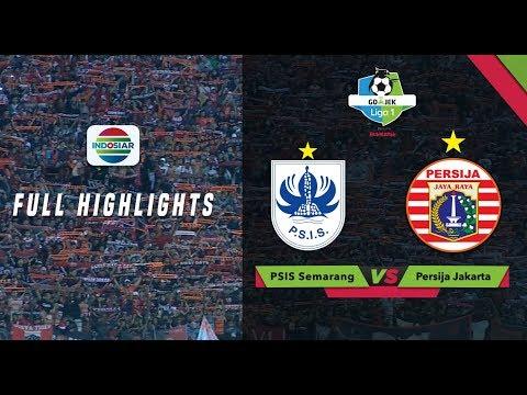PSIS Semarang (1) vs (4) Persija Jakarta - Full Highlight | Go-Jek Liga 1 bersama Bukalapak