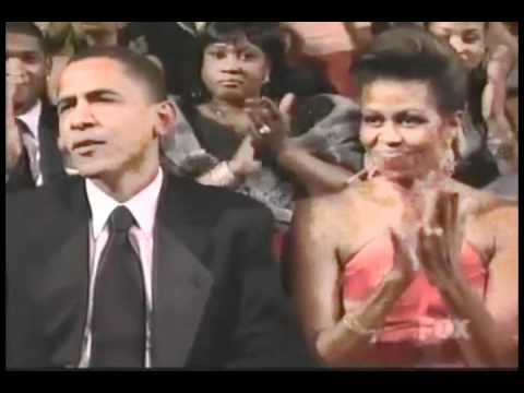 Fantasia performing I believe Honoring Senator Obama at the NAACP