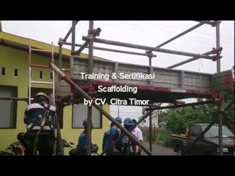 Pemasangan dan Pembongkaran Scaffolding