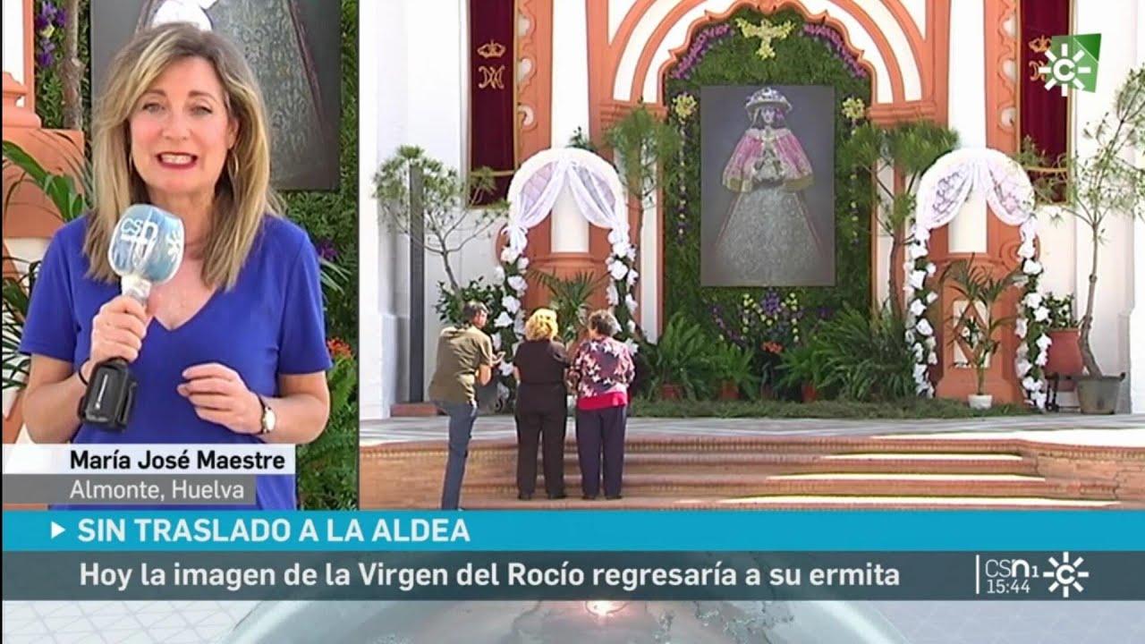 Suspensión Del Regreso De La Virgen Del Rocío A Su Santuario 24 De Mayo De 2020 Youtube