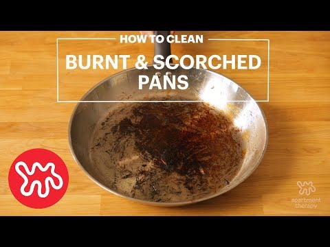 Clean Your Burnt Pans Like Brand New