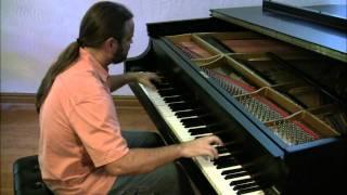 Peacherine Rag by Scott Joplin (newer version) | Cory Hall, pianist-composer