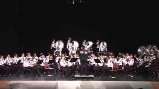 50 Ways to Say Goodbye-Sobrato Marching Band Indoor Concert 2014