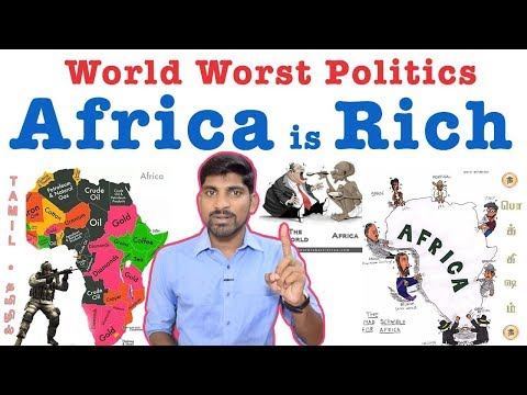 Africa is Rich | ஆப்பிரிக்கா பாவம் | Africa Looted | World Politics | Tamil | Pokkisham | Vicky |TP