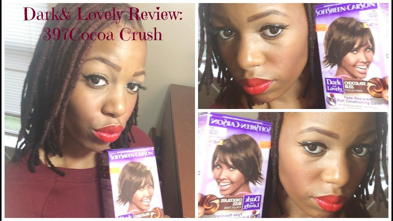 diy 397 cocoa crush dark lovely hair dye youtube - Dark And Lovely Coloration