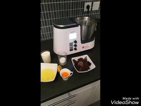 Mousse Au Chocolat Avec Monsieur Cuisine De Silvercrest Youtube