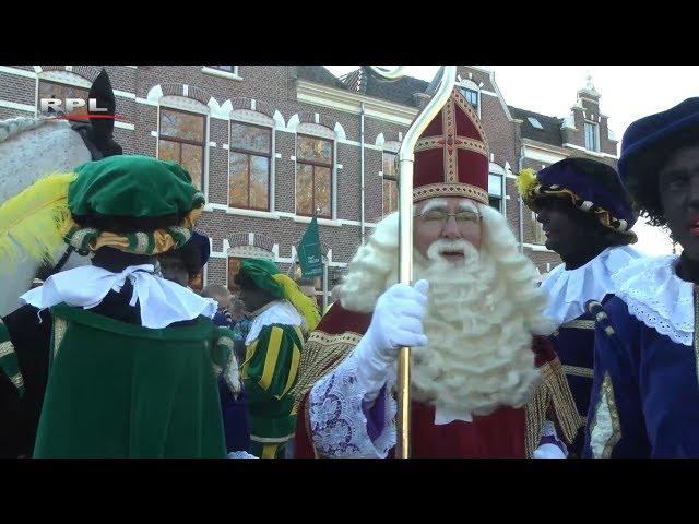 Intocht Sinterklaas in Woerden 2018