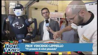 RoDyMan and PRISMA Lab @ Ufficio Brevetti - Rai2 - I Fatti Vostri - 4 Oct 2016
