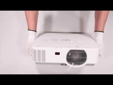 Unboxing NEC Projector P603X 3LCD hands on review