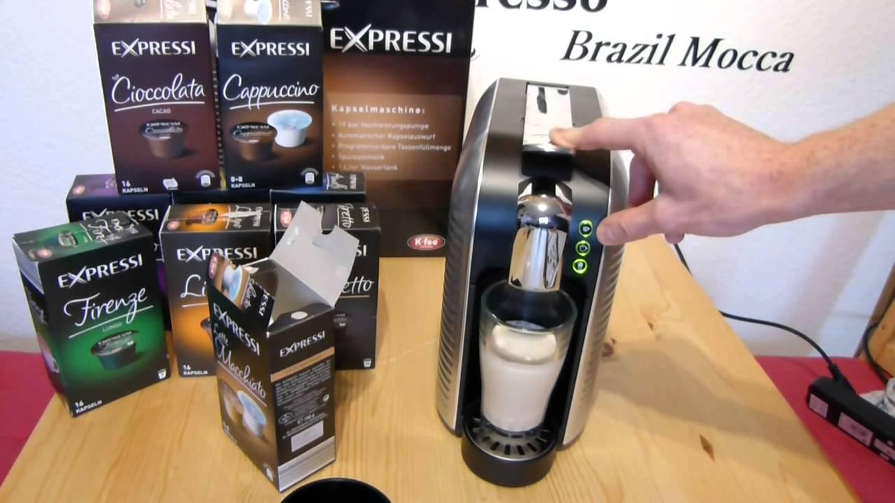 latte macchiato zubereitung expressi kapselmaschine. Black Bedroom Furniture Sets. Home Design Ideas