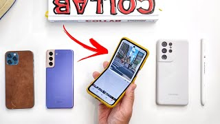 Samsung Galaxy Z Flip 3 Camera vs iPhone 12 Pro vs Galaxy S21 Ultra