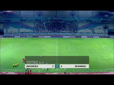 Indonesia Libas Myanmar 3 - 0 | Highlight Friendly Match Indonesia Vs Myanmar 2018