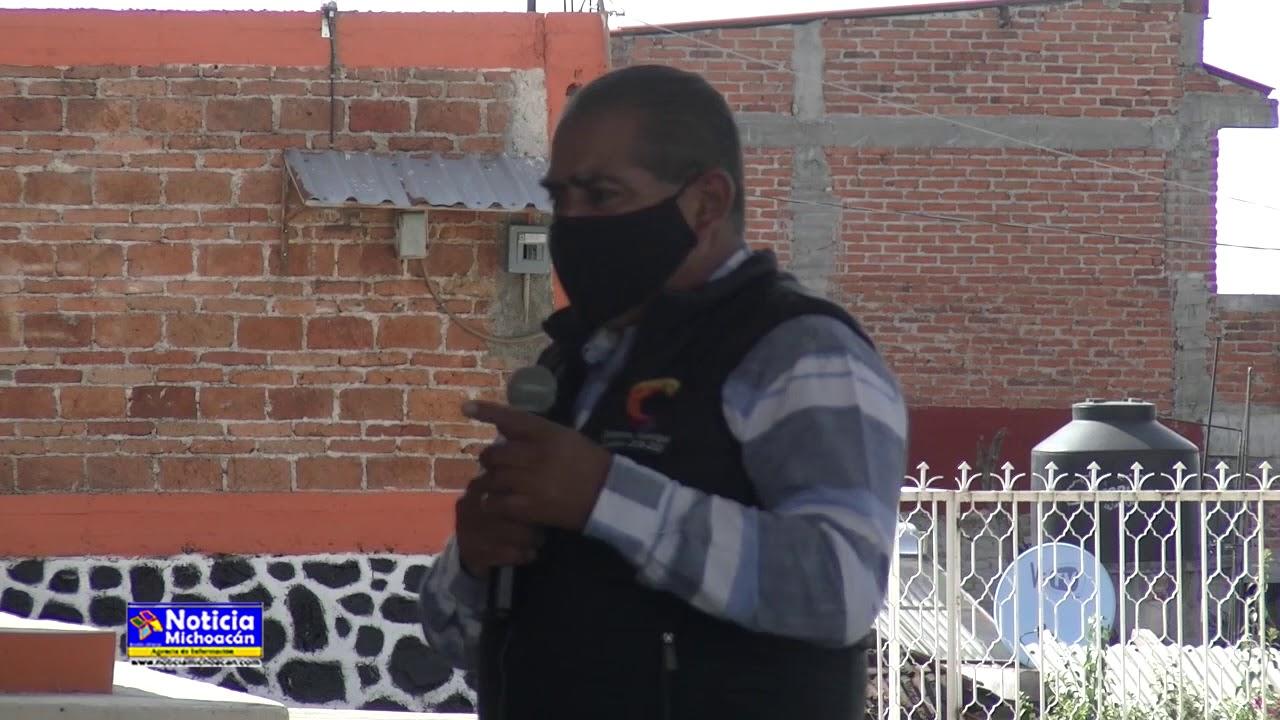 Las obras publicas en las comunidades son la muestra del trabajo realizado: Ariel Trujillo Córdova