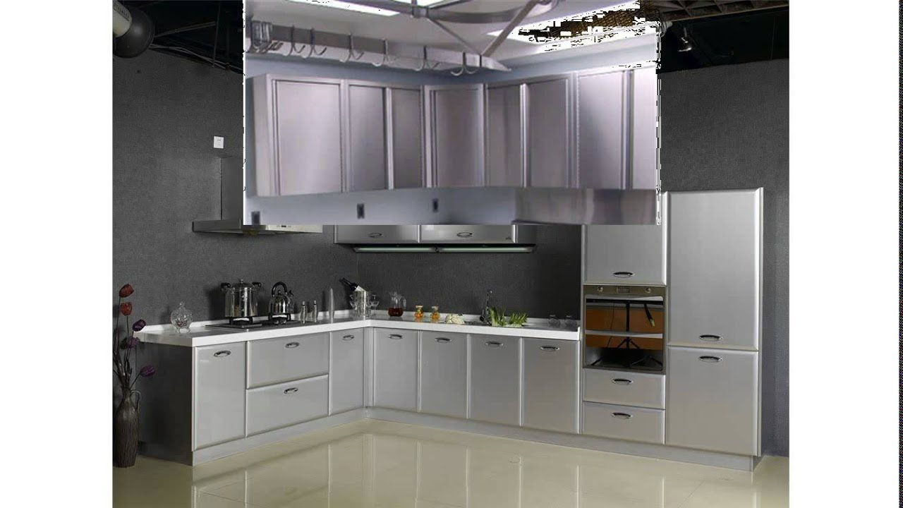 metal kitchen cabinets for sale ideas islands steel youtube