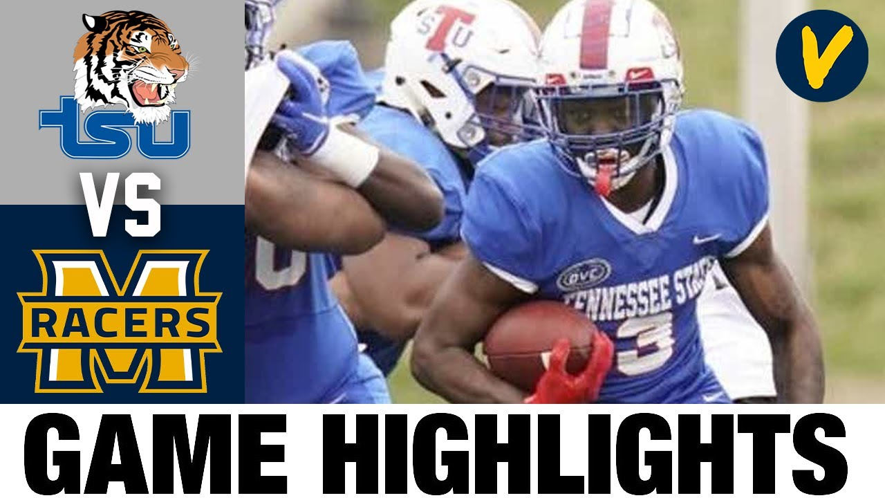 Tennessee State vs #25 Murray State Highlights | FCS 2021 Spring College Football Highlights