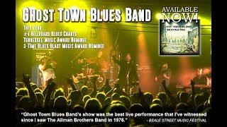 Ghost Town Blues Band live at Festival de Blues de Donnacona 2018