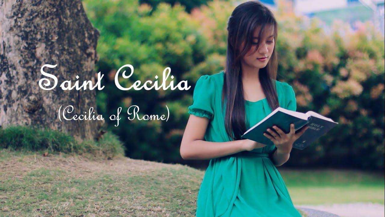 Saint Cecilia - Patron Saint of Musicians, Singers and Music