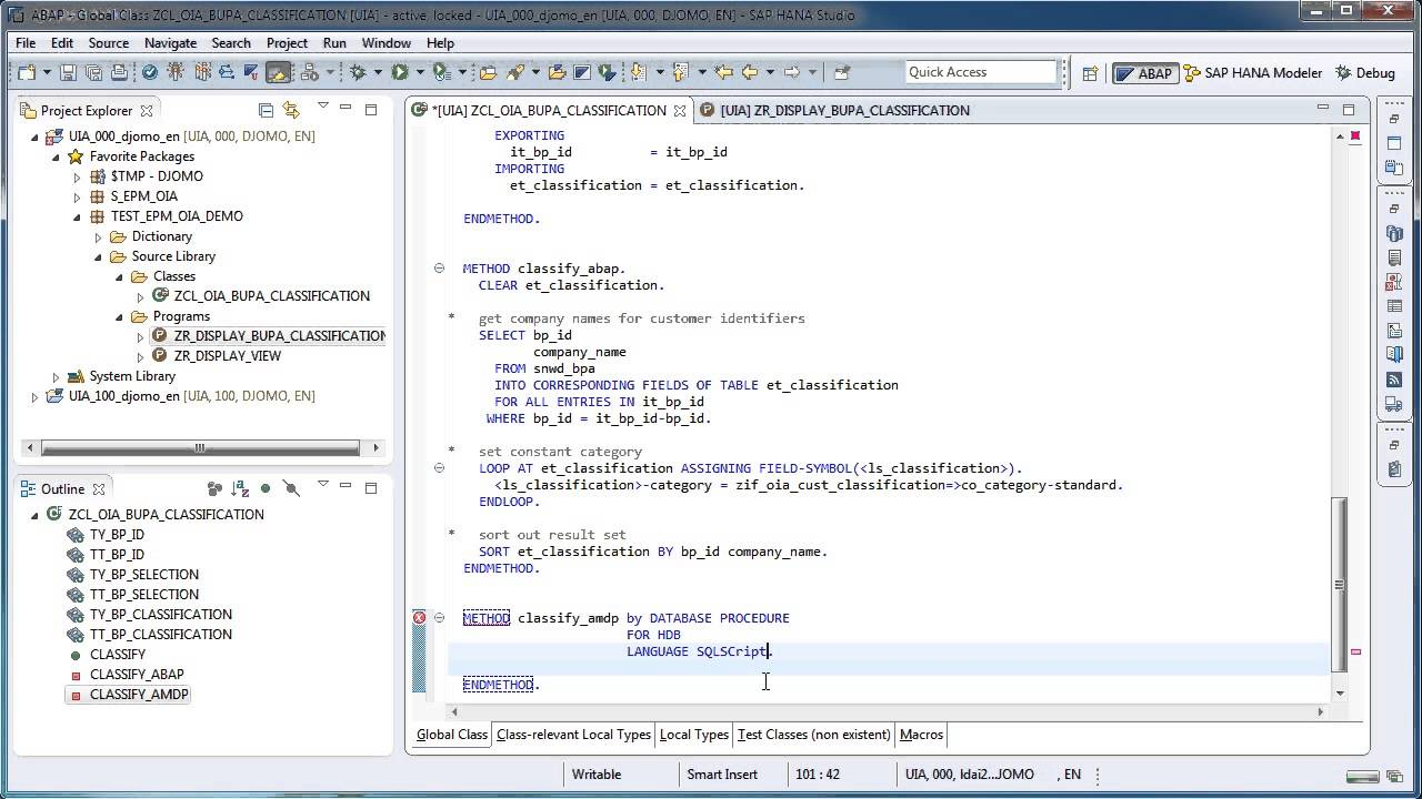ABAP Managed Database Procedures – Introduction | SAP Blogs