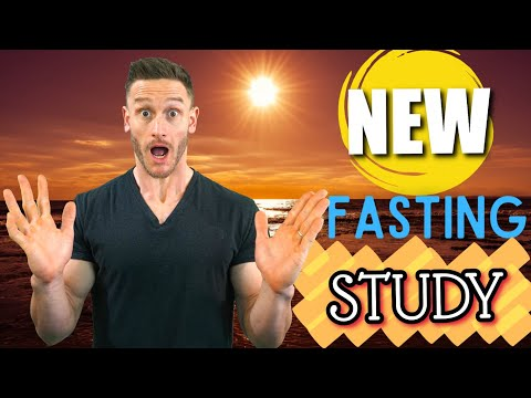 TRY THIS! New STUDY on Fasting in the Afternoon