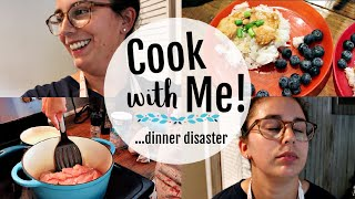 Easy Dinner Recipe for a Family..GONE WRONG! | Cook with me 👩🏻‍🍳