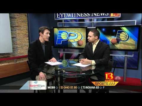 13 Sports Jam 1/15/2012 - Pacers talk with Yutzy and Nye