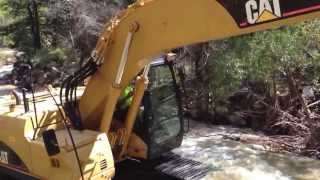 Boulder Colorado Flood 2013 Help has arrived!  4 mile canyon pt 1