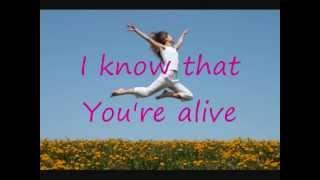 Alive By: Kim Walker Smith With Lyrics