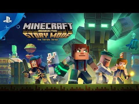 Minecraft Story Mode Season Two Trailer Ps4 Youtube