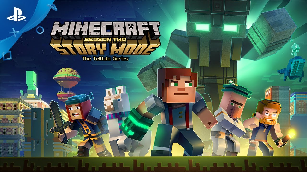 Minecraft: Story Mode – Season Two - Trailer | PS4 - YouTube