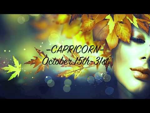 CAPRICORN • Bi-Weekly Love Reading  | Oct. 15th-31st