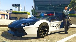 GTA 5 PC Mods - PLAY AS A COP MOD #18! GTA 5 BAD COP PATROL Mod Gameplay! (GTA 5 Mod Gameplay)