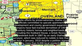 Olathe, Kansas (USA) - Facts, History, Economy