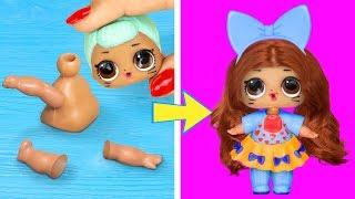 15 Truques E DIYs Com Bonecas LOL Surpresa
