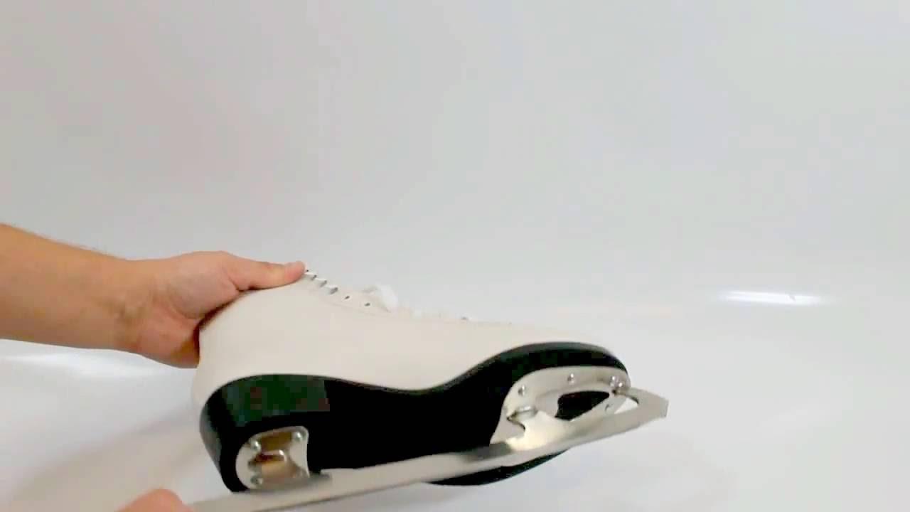 Фигурные коньки Powerslide Elle - YouTube