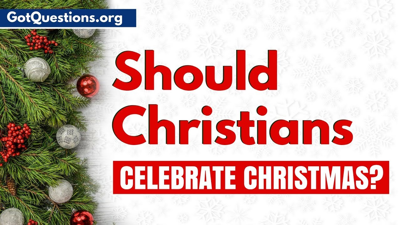Should Christians celebrate Christmas? | Is Christmas a Pagan Holiday?