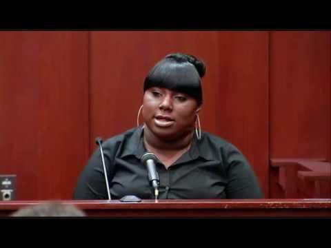 Opie & Anthony Sassy Fat Black Girl Witness @ Trayvon Martin Trial (6/27/13)