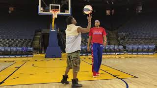 Marquette King vs. Harlem Globetrotter in HORSE