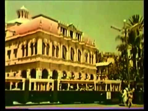 Alger en 1950 - Reportage en Couleur.